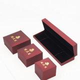 Коробка бархата ювелирных изделий подарка поставкы высокого качества (J39-E)
