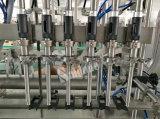 Machine de remplissage et d'emballage pour désinfectant à gravité automatique
