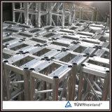 Aluminium verriegelter Binder des Binder-Kasten-305*305
