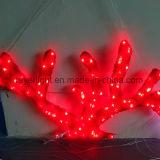 Aménagement des décorations de corail roses de stationnement d'océan de lumière de motif de l'éclairage DEL