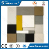 Matériaux de décoration d'intérieur de haute qualité Panneau de fibre de verre pour la construction