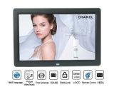 Коммерция рекламируя входной сигнал рамки фотоего 12 14 15 цифров держателя стены дюйма видео- (MW-1203DPF)
