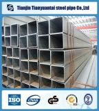 38X38mm ERW quadratisches Stahlrohr-rechteckiges schwarzes Stahlrohr