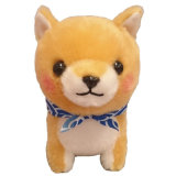 プラシ天の秋田犬、カスタムプラシ天のおもちゃ