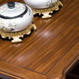 좋은 품질 As841와 거실 홈 사용을%s 최신 단순한 설계 단단한 나무 둥근 커피용 탁자