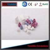 Piezas de cerámica de cerámica de la materia textil Polished Al2O3