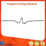 Filamento do tungstênio para o fio de tungstênio puro da lâmpada de filamento do tungstênio do revestimento de vácuo