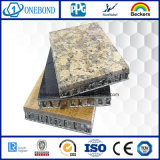 El panel de aluminio de piedra del mármol del panal para el revestimiento de la pared