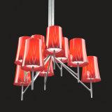 Lâmpada de pendurar decorativos em acrílico moderna Marcação/UL Iluminação Pendente de Metal