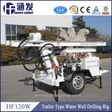 Installatie van de Boor van de Put van het Water van de Aanhangwagen van de hoge Efficiency Hf120W de Hydraulische Draagbare
