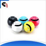 Preiswerter mini beweglicher bunter Kugel Bluetooth Lautsprecher mit FM Radio