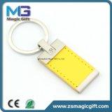 Het PromotieLeer Van uitstekende kwaliteit Keychain van de douane