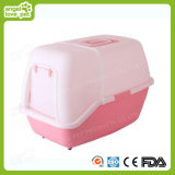 Outdoor Easy-Carry Plastic Cat Box