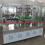 Vidro automática garrafas de cerveja artesanal de enchimento de preparar uma fábrica de engarrafamento a máquina