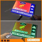Utilisé de la publicité de plein air rétroéclairé par LED boîte à lumière