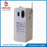 Luz Emergency de rádio recarregável do USB do diodo emissor de luz FM de Protable SMD