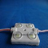 Module d'injection carré 5730 4LED avec lentille givrée