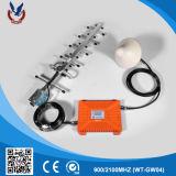 aumentador de presión móvil de la señal del repetidor 900/2100MHz de 30dBm 2000sqm G/M RF
