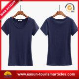 T-shirt do polo das mulheres da impressão do sentido do costume um