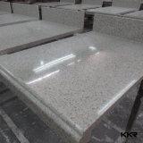 L'ivoire Surface solide de l'acrylique de comptoir de cuisine avec évier (C1705112)