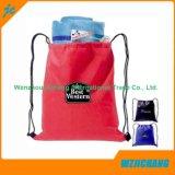Bolso de compras no tejido reciclable laminado reutilizable y plegable de los PP del totalizador