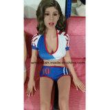 Schitterende 165cm Levensechte Doll van het Geslacht met Skelet Posable