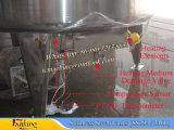 Tanque de mezcla de vacío de 50 ~ 1000lit con agitador de rascador