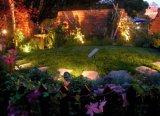 LED 옥외 점화를 위한 태양 잔디밭 램프 정원 빛
