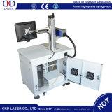 Máquina de gravura do marcador do laser do aço inoxidável