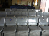 金属の競争価格の鋼鉄スタック可能パッドを入れられたか、またはカスタマイズされた教会椅子