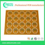 Gouden PCB van de onderdompeling met Rode Inkt en Raad Fr-4