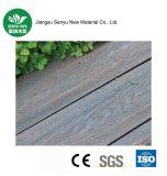 Revestimento de madeira plástico ao ar livre contínuo de WPC (SY-06)