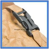 Saco de papel material novo personalizado fábrica da trouxa do esporte ao ar livre de Du Pont, saco de ombro de papel de Tyvek da promoção único com correia ajustável