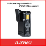 HD bewegliche Karosserien-Kamera mit 4G GPS WiFi Cms-Management