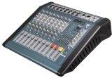 Console de mistura de venda quente da canaleta do áudio 12 do misturador da potência com 300W