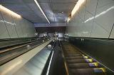 Escalator semi extérieur de Volkslift Vvvf dans le souterrain