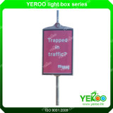 通りLEDの滑走路端燈ボックスランプのポール・ディスプレイ