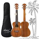 Glanz-Ende feste Koa Oberseite 24 Zoll-Hawaii-GitarreUkulele