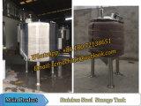 Tanque de armazenamento isolado 1000liter para gelatina e suco