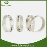 Bracelet en silicone Silicone à la mode à bandes personnalisées pour vente