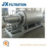 Filtro de tambor rotatorio usado en sistema de la filtración del agua