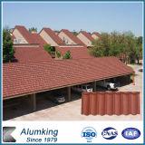 Mattonelle metal-ceramiche rivestite in bianco dell'obbligazione del tetto