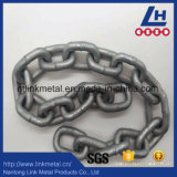 L'acciaio G80 ha galvanizzato la catena a maglia della bobina della prova