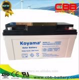 65ah 12Vの深いサイクルのゲル電池PV電池の海洋の電池の蓄電池