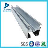 6063 T5 anodizado de aluminio de plata abatible Puerta de aluminio de extrusión de perfil