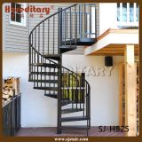 現代鋼鉄木製のまっすぐなステアケースのステンレス鋼ケーブルの柵(SJ-H800)
