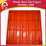 Azulejo de azotea plástico español comercial del PVC de /ASA del azulejo de material para techos de /ASA del azulejo de material para techos de la resina sintetizada del aseguramiento