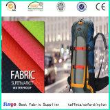 Tecido revestido de PVC Jacquard 400d para mochila esportiva ao ar livre