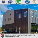 Entrepôt élevé de bâti en acier avec la mezzanine