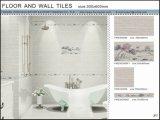 3Dインクジェット床および壁のセラミックタイル(VWD36C603、300X600mm)